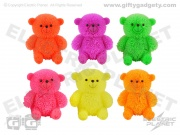 Light-Up Animal Balls x 12 - Bears